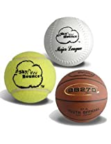 Sky Tennis Balls 3ct White