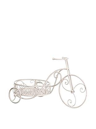 Outdoor Plantero Bicicleta Metal Jardín