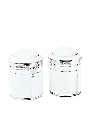 Noritake Palmer Platinum Two-Piece Salt & Pepper Set