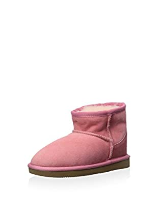 Pegia Kid's Suede Classic Mini Short Shearling Lined Boot