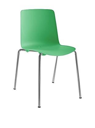 COLOS Stuhl 2er Set Vesper 1 grün/chrom