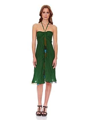 Candora Vestido Cameo (Verde Botella)