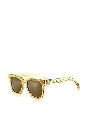 FELER SUNGLASSES Sonnenbrille Charles Zebrano (54 mm) beige/braun