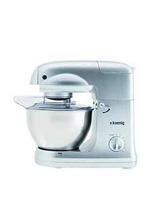 H.koenig Küchenmaschine Multifunktion KM78 stahl