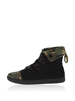 Dr. Martens Hightop Sneaker Chiswick Camo Canvas