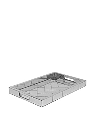 Three Hands Square Mirrored Tray