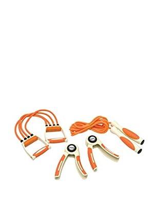 Gymline Set Fitness Man Advance orange/weiß