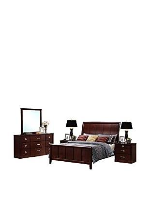 Baxton Studio Argonne 5-Piece Bedroom Set