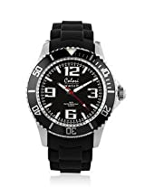 Colori Cool Steel Analog Black Dial unisex watch - 5-COL065