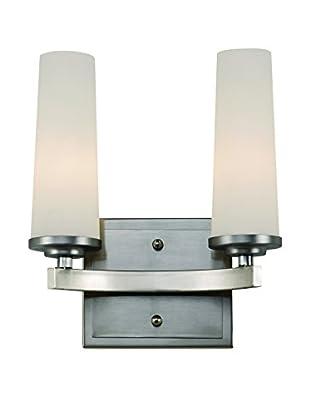 Bel Air Lighting Light Saber 2-Light Vanity, Satin Nickel