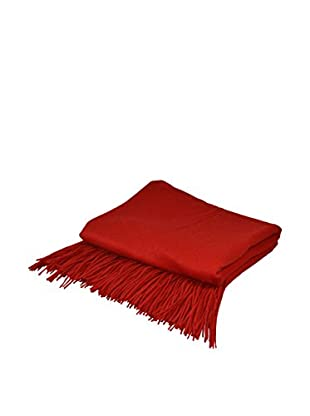 PÜR Cashmere Signature Blend Throw, Red Lipstick