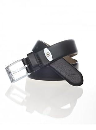 Porsche Design Cinturón piel, Negro