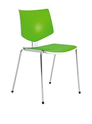 CONTRAST Stuhl 2er Set Loola grün