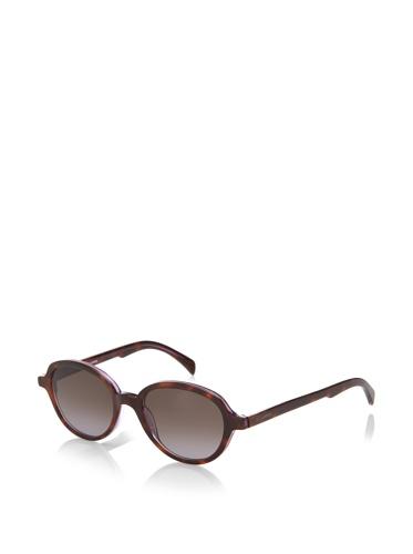 Jil Sander Women's Round Sunglasses, Tortoise/Purple