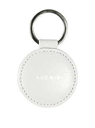 Lucrin Schlüsselanhänger PM1037_VCLS_BCC weiß