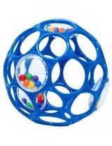 Oball With Rattle Toy - Blue