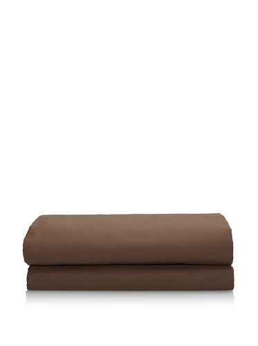 Org OM Fitted Sheet (Chocolat)