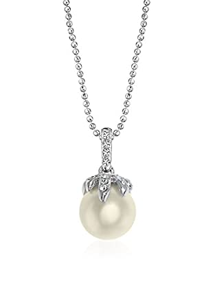 Passion Obscure Collar Strass And Pearls