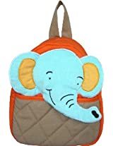 Little Pipal Jungle Collection Elephant Toddler Backpack, Orange