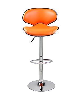 Only Deco Barhocker 2er Set orange