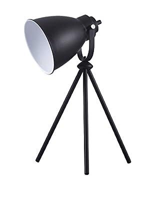 De-sign Lights Tischlampe Marla schwarz