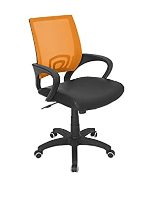 LumiSource Office Chair, Tangerine
