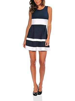 Bleu Marine Kleid Elodie