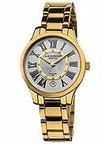 Akribos Diamond Gold-Tone Stainless Steel Ladies Watch Ak570Yg