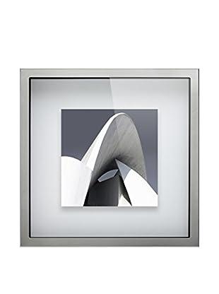 Braid Concept Impresión Con Marco Metal