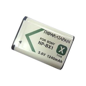 Sony DSC-RX100のNP-BX1対応バッテリー