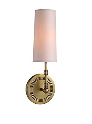 Urban Lights Richmond 1-Light Wall Lamp, Antique Bronze