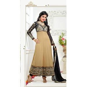 Khantil New Biggest Cream Designer Long Anarkali Suit Collection - SS2099-9005