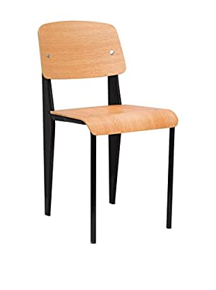 LO+DEMODA Set Silla 2 Uds. Demiro Plywood
