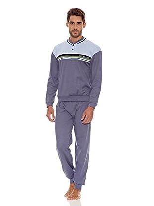 Asman Pijama Caballero (Azul)
