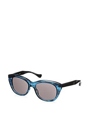 DITA Women's 22005C-53 Savoy Sunglasses, Dark Blue Swirl Crystaline