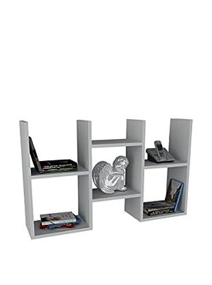 Dekorister Bücherregal Gues weiß 22x97x59,5cm