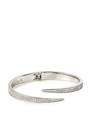 Michael Kors Matchstick Pavé Silver-Tone Cuff