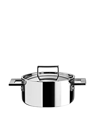 MEPRA Trimetal Risotto Casserole with Lid, Stainless Steel