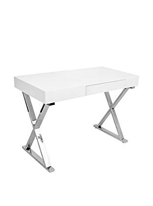 Lumisource Luster Desk, White