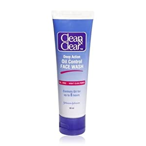 Clean and Clear Oil Control Face Wash