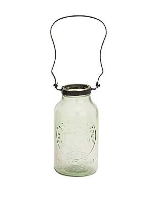 Rustic Glass Lantern, Clear