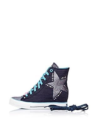 Skechers Botas 39116 (Azul Marino)
