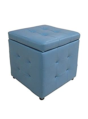 Evergreen Home Hocker mit Stauraum himmelblau