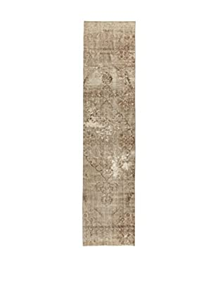 Design Community By Loomier Teppich Anatolian Vintage lehmbraun 90 x 388 cm
