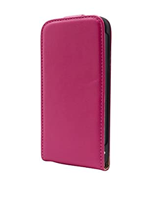 UNOTEC Funda Flip Vertical iPhone 5 / 5S Rosa