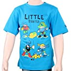 Menthol Boy's T- Shirts - BST-05 (Canary Blue)