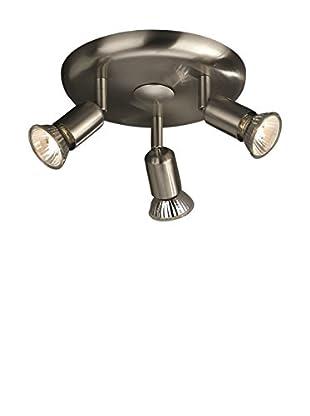 MASSIVE Deckenlampe Basic grau 19,5 x 19,5 x 10,0 cm