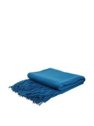 PÜR Cashmere Signature Blend Throw, Teal