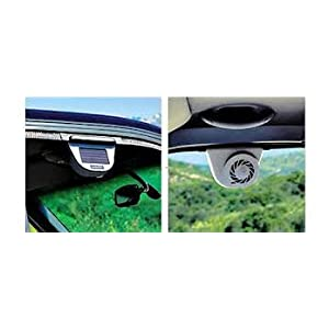 Harjas AA02 Solar Powered Exhaust System Auto Cool Car Ventilation Fan
