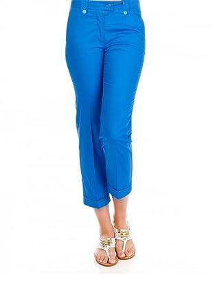 Cortefiel Hose (Blau)